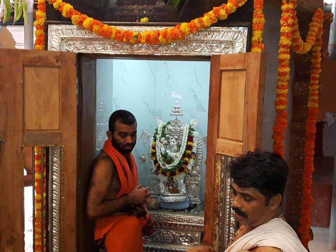 Punah pratistha of lord Shree Mukyaprana