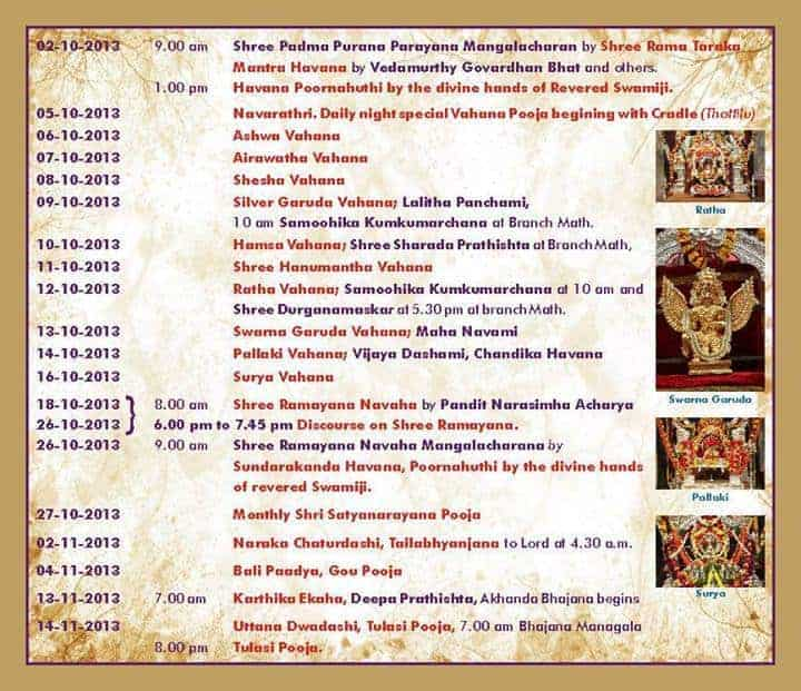 12th Chaturmas Vrita in 2013 at Bangalore
