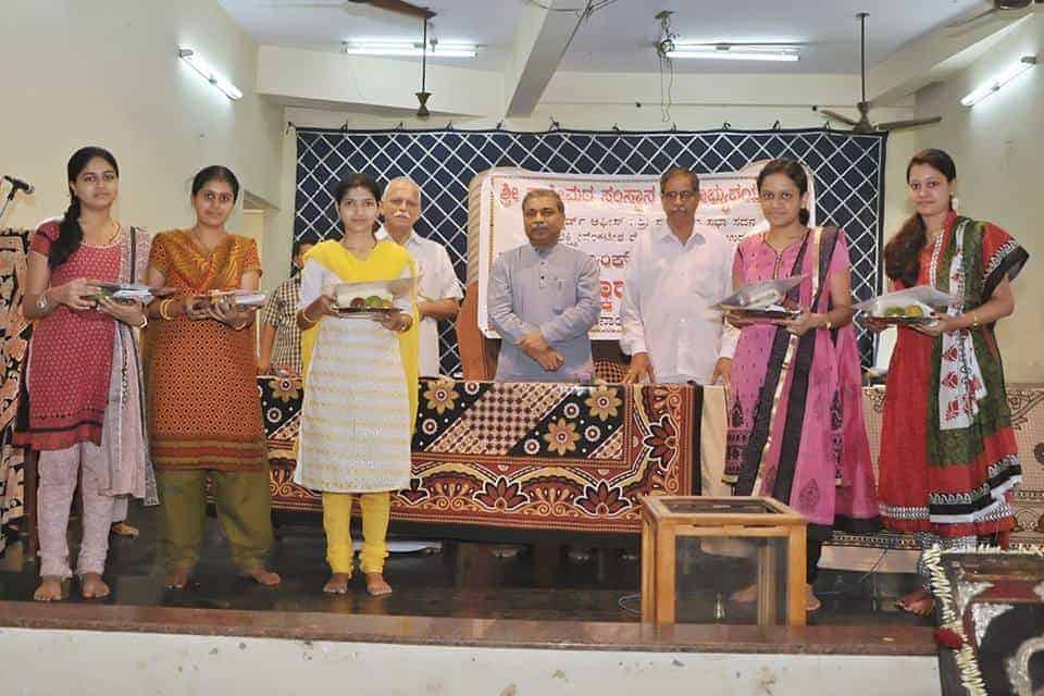 Meritorious students felicitated on March 22, 2015