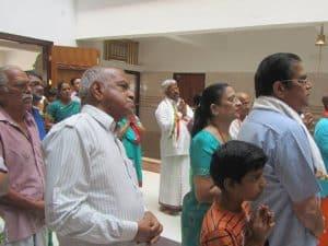 First Satyanarayana Pooja at Tirupati Shri Kashi Math