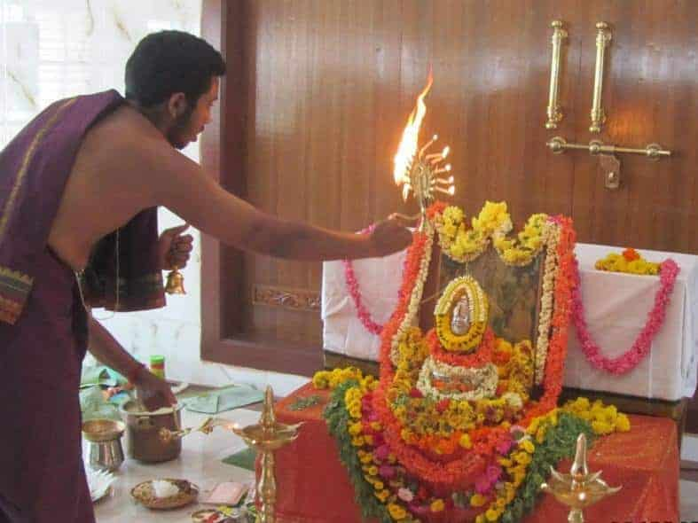 First Satyanarayana Pooja at Tirupati Shri Kashi Math